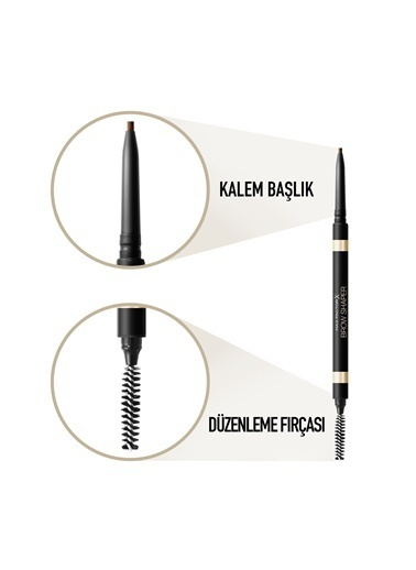 Max Factor Brow Shaper Kaş Kalemi 30 Dark Brown Kahve